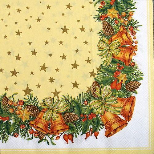 ubrousky na decoupage vánoční