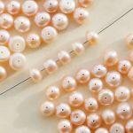 meruňkové perly říční disk 8 mm