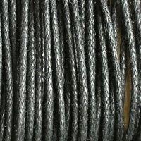 černá šňůrka voskovaná