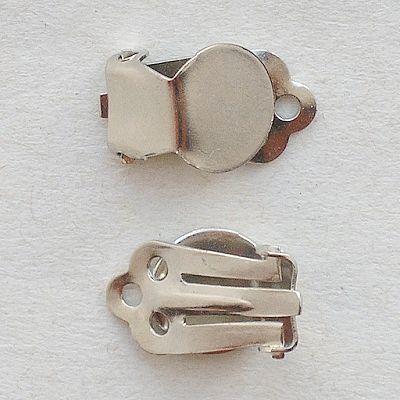 komponenty na náušnice klipsy